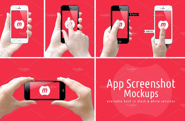 App Screenshot Mockups