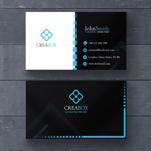 Best Geometric Business Card Designs Free