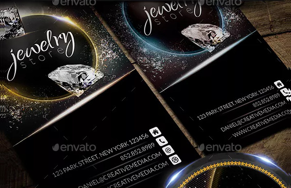 Best Jewelry Store Business Card