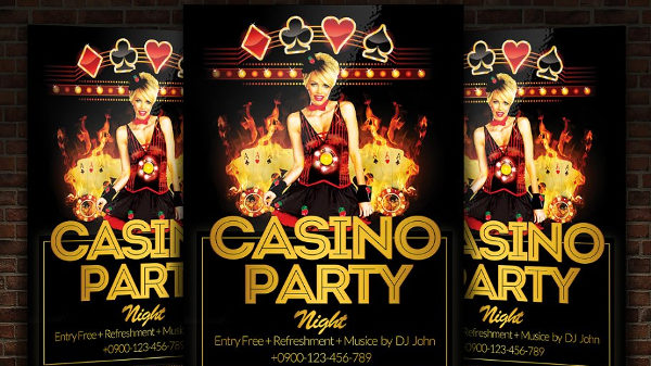 31+ Casino Flyer Templates