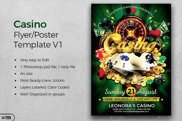 PSD Casino Flyer or Poster