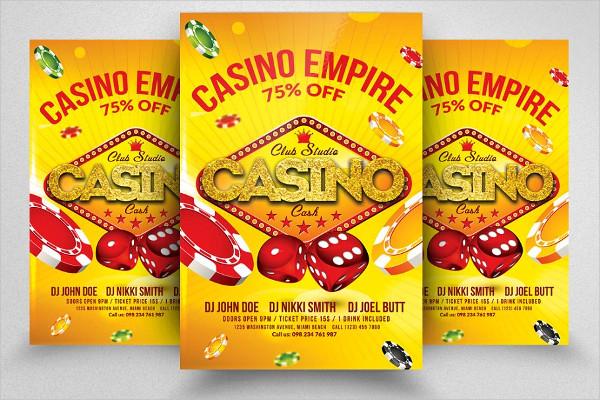 Casino Royal PSD Flyer Template