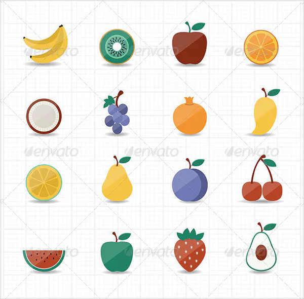 Cool Fruits Icon Pack