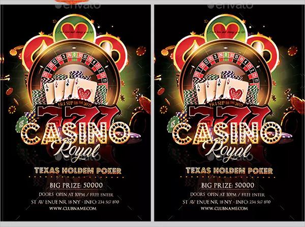 Custom Casino Flyer Design