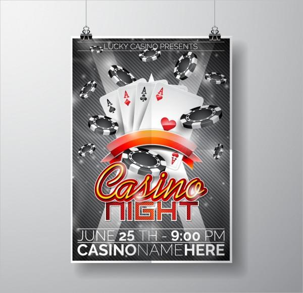 Free Casino Night Flyer Download