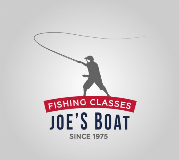 Free Fishing School Logo