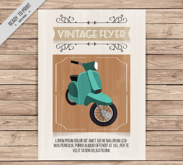 Free Motorcycle Flyer Design Download