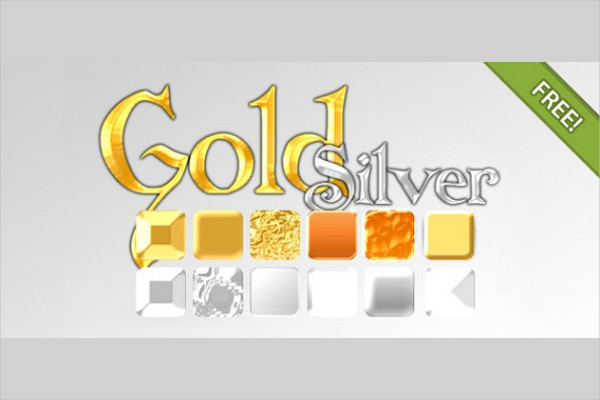 Gold & Silver Effect Styles Free Download