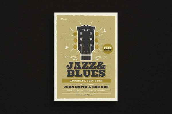 Jazz & Blues Music Flyer