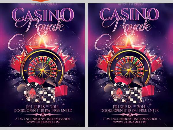 Luxury Casino Flyer Design