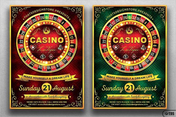 Massive Casino Flyer Template