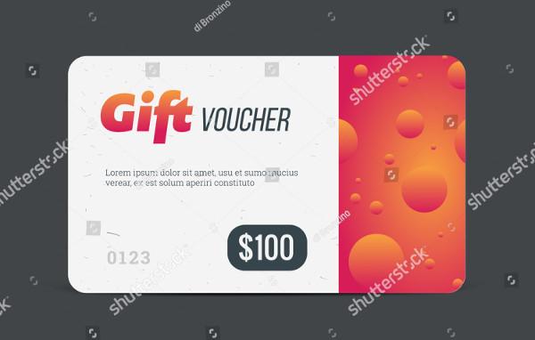 Modern Gift Voucher Mock-Up