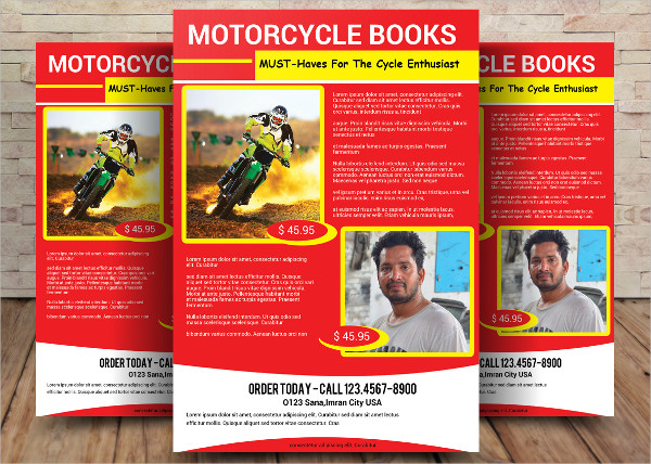 Motorcycle Book Flyer