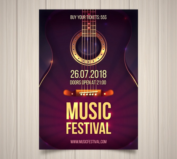 Music Festival Flyer Free Download