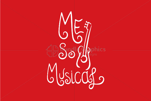 Musical Calligraphic Designs