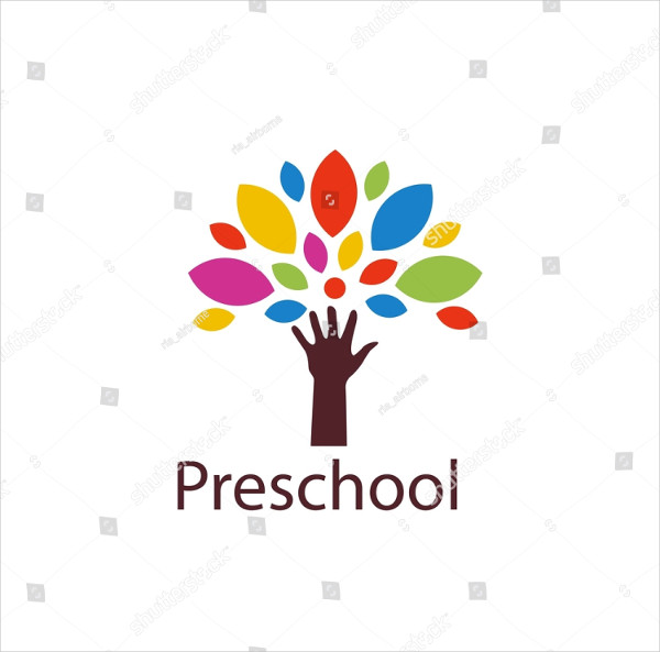 Preschool Logo Template