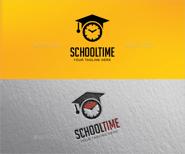Printable School Logo Design