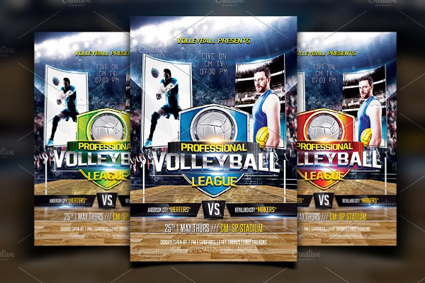 Printable Volleyball Flyer