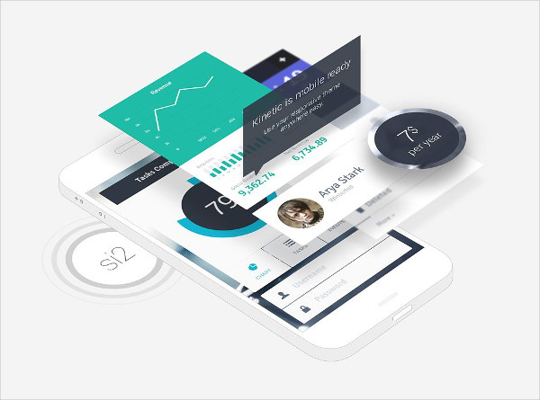 Professional Phone App Mock-Ups
