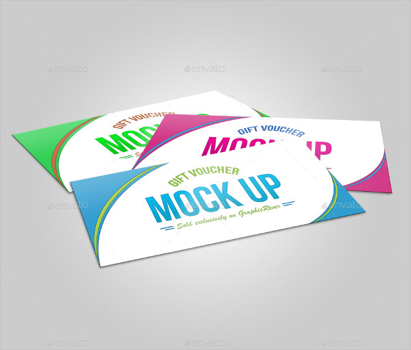Realistic Voucher Mock-Up