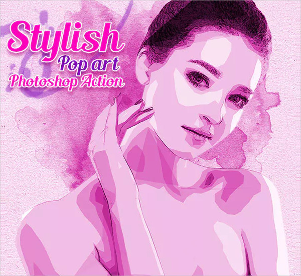 Stylish Pop Art Photoshop Action
