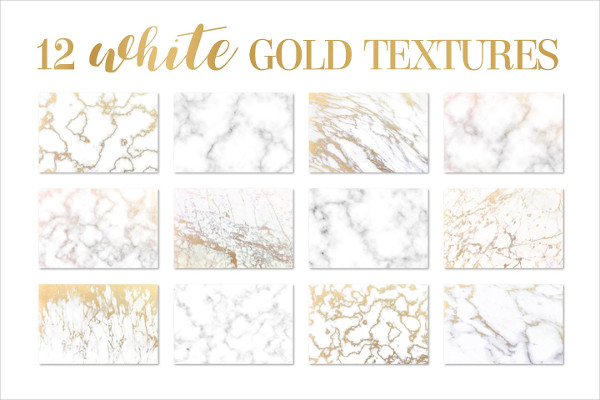 White Gold Marble Texture Backgrounds