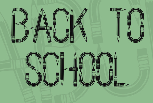 Back To School Font Free Download