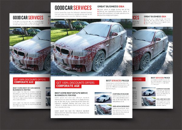Best Car Services Flyer