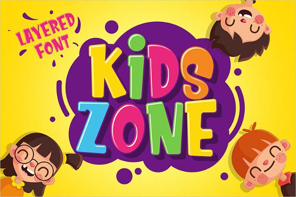 Best Kids Zone Fonts