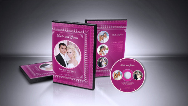 Best Wedding DVD Cover & CD Label Design