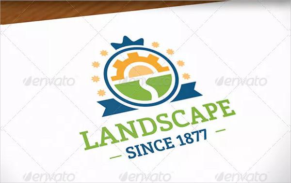 Branding Landscape Logo