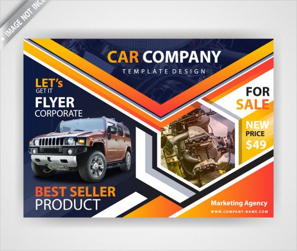 Car Advertising Flyer Free Download