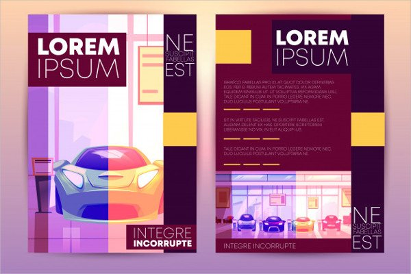 Car Showroom Flyer Free Download