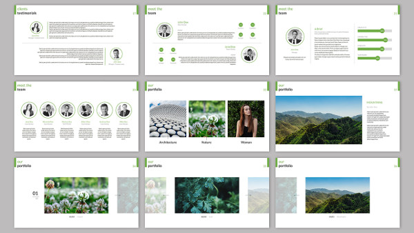 Clarity Company Minimal PowerPoint Template