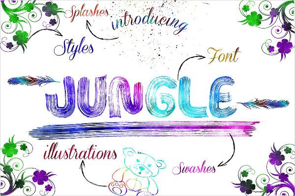 Cool Jungle Font