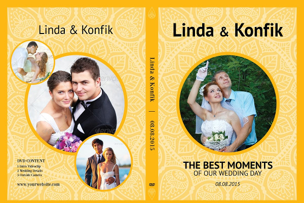 Cool Wedding DVD Cover & CD Label