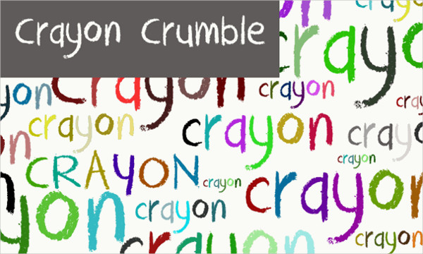 Crayon Crumble Font Free