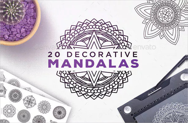 Decorative Mandalas