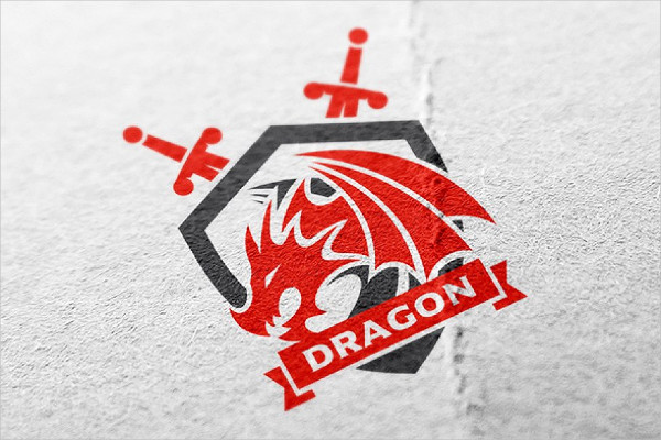 Dragon Force Logo Designs