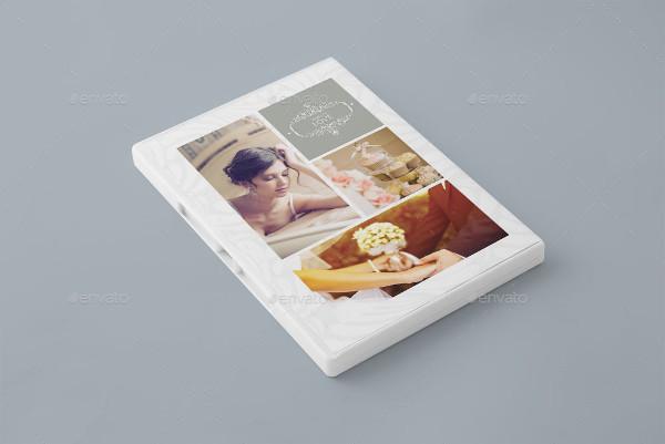 Elegant Wedding DVD or CD Cover Template