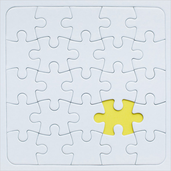 Free Puzzle Mock-Up Download