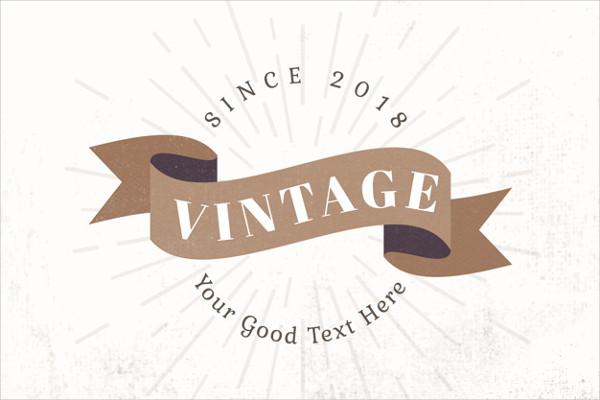 Free Vintage Logo Design Template Download