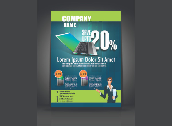Funky Business Flyer Free Download