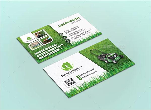 Garden Landscape Business Card Templates