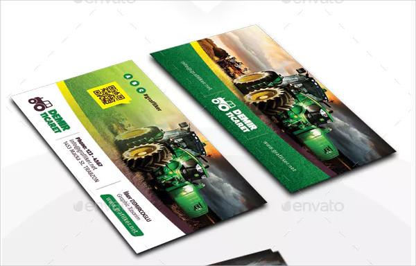 Garden Services Business Card Templates