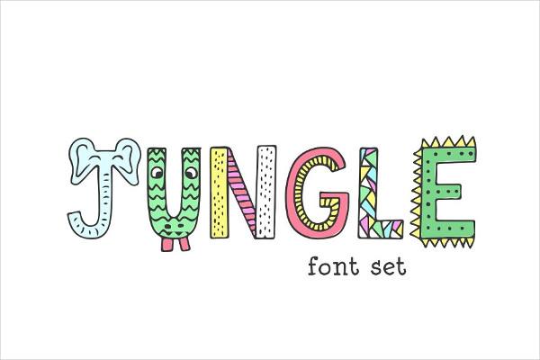 Jungle Character Font