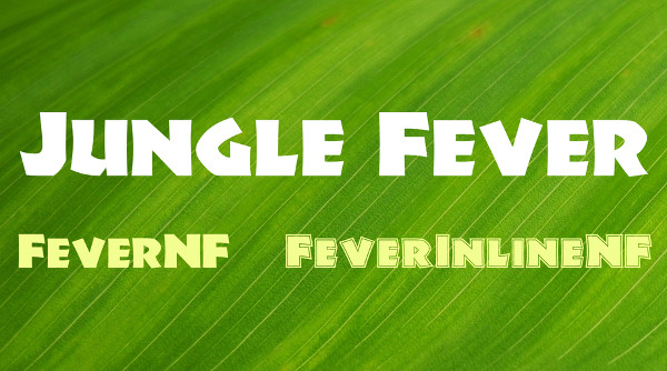 Jungle Fever Font Family Free