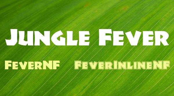 Jungle Fever Font Family Free
