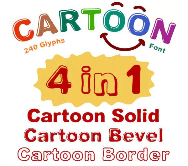 Kids Cartoon Font