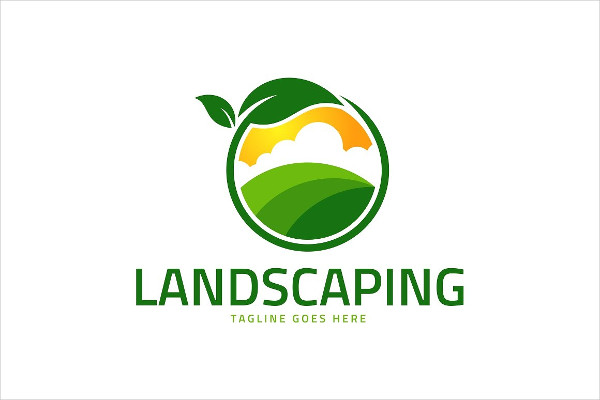 Landscaping Farm Nature Logo